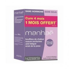 Nutrisanté manhaé cure de 4 mois dont 1 mois offert 120 capsules