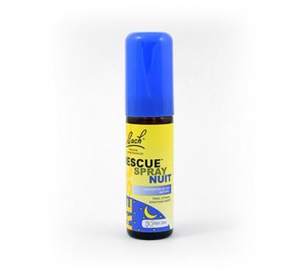 Bach rescue spray nuit 20ml