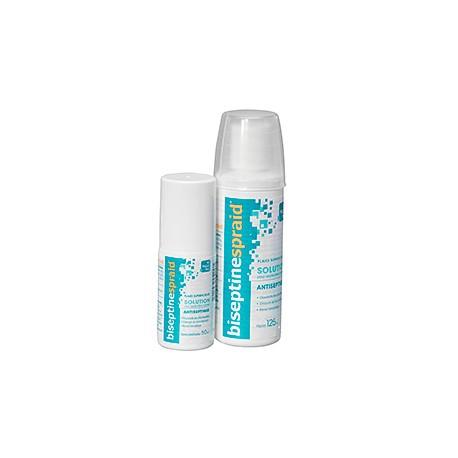 Biseptinespraid soltuion pour application cutanée 125 ml