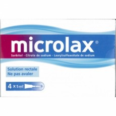 Microlax solution rectale 5 ml