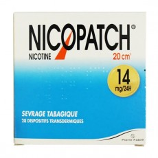 Nicopatch transdermique 14mg/24h