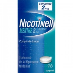 Nicotinell menthe 2 mg