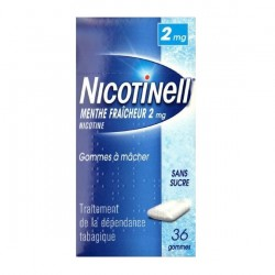 Nicotinell menthe fraicheur 2 mg