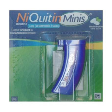 Niquitinminis menthe fraiche 4 mg