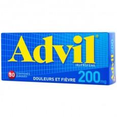 Advil comprimés enrobés 200 mg