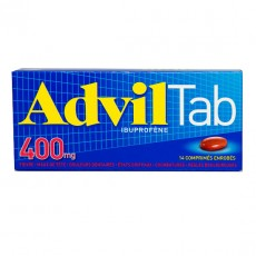 Advil comprimés enrobés 400 mg