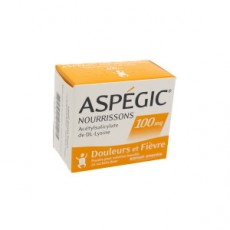 Aspegic nourrisson 100 mg