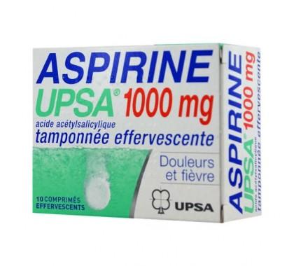 Aspirine Upsa comprimés effervescent 1 g