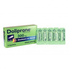 Doliprane suppositoire 300 mg