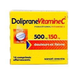 Doliprane vitamine C 500mg/150mg