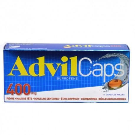 Advilcaps 400 mg
