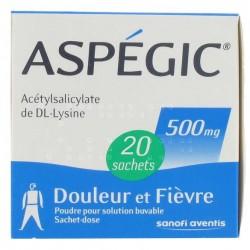 Aspegic 500 mg