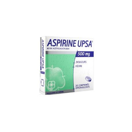 Aspirine Upsa comprimés effervescent 500 mg