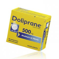 Doliprane comprimé effervescent 500 mg