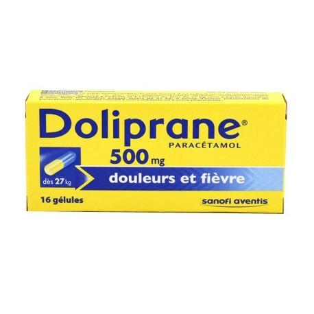 Doliprane gélule 500 mg