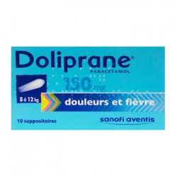 Doliprane suppositoire 150 mg