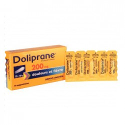 Doliprane suppositoire 200 mg