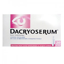 Dacryoserum solution ophtalmologique unidoses 5 ml