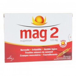 Mag 2 magnésium solution buvable
