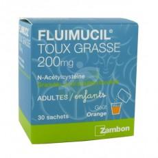 FLUIMUCIL 200mg granulé pour solution buvable