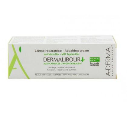 Aderma dermalibour + crème réparatrice tube 100ml