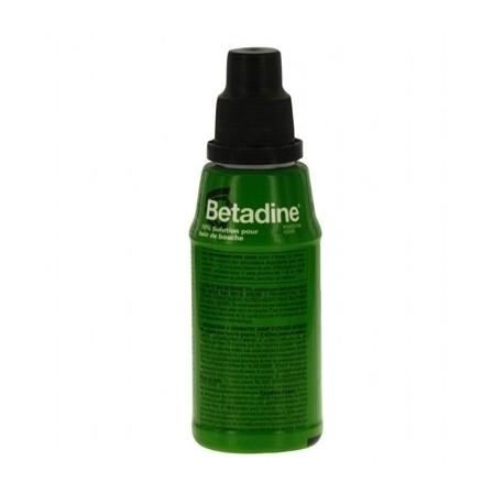 Betadine 10 pour cent solution pour bain de bouche 125ml