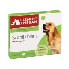 Clement thekan scanil chiens vermifuge 4 comprimés