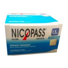 Nicopass 1,5 mg sans sucre menthe fraîcheur 144 pastilles