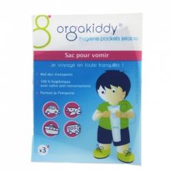 Orgakiddy Sac pour Vomir x 3