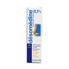 Desomedine 0,1% solution pour pulvérisations nasales 10ml