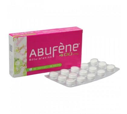 Abufene 400mg Bouffées de chaleur 30 comprimés