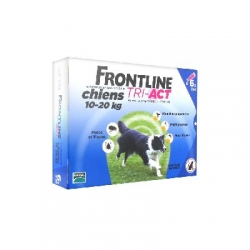 Frontline Tri-Act Chiens 10-20 kg 6 Pipettes