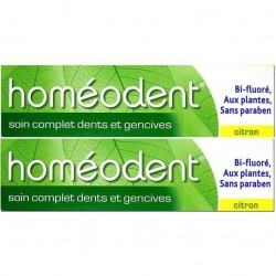 Homéodent soin complet citron duo 75ml