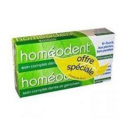 Homéodent soin complet Chlorophylle duo 75ml