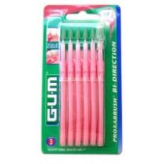 Gum brossettes proxabrush bidirection fines