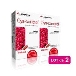 Arkopharma Cys-Control Duo 2x20 gélules