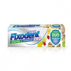 Fixodent pro duo protection antibactérien + anti-particules 40g