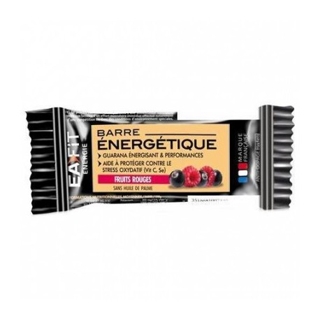 EAFIT BARRE ENERGETIQUE FRUITS ROUGES