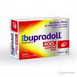 IBUPRADOLL 400MG CAPS MOL BT10