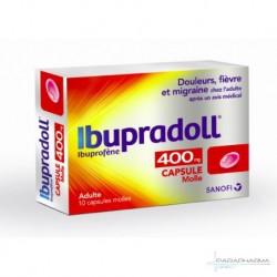 IBUPRADOLL 400MG CAPS MOL BT10
