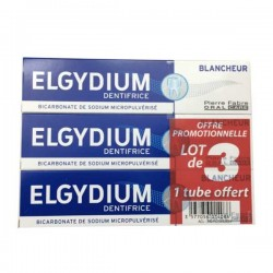 ELGYDIUM DENTIF BLCHEUR LOT 3X75ML