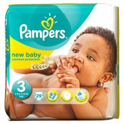 PAMPERS NEW BABY MIDI PAQ29