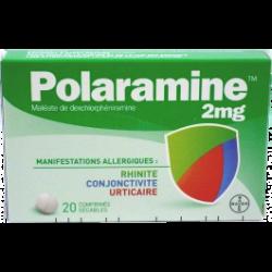 Polaramine 2mg 30 comprimés