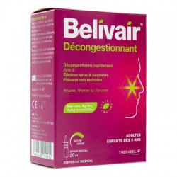 BELIVAIR DECONGSTIONNANT SPRAY NASAL20ML
