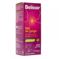 BELIVAIR MAL DE GORGE COLLUTOIRE20ML