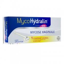 MYCOHYDRALIN 500MG C.VAG 1+APL