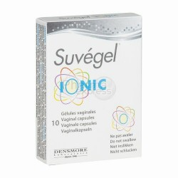 SUVEGEL IONIC CAPS VAGINAL 10