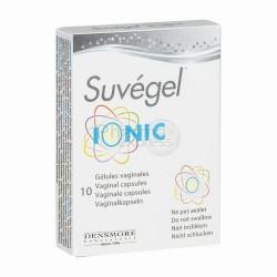 SUVEGEL IONIC CAPS VAGINAL 10