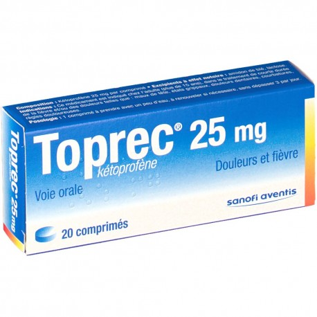 TOPREC 25MG CPR BT20