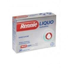 RENNIELIQUO SANS SUCRE suspension buvable édulcorée à la saccharine sodique en sachet-dose